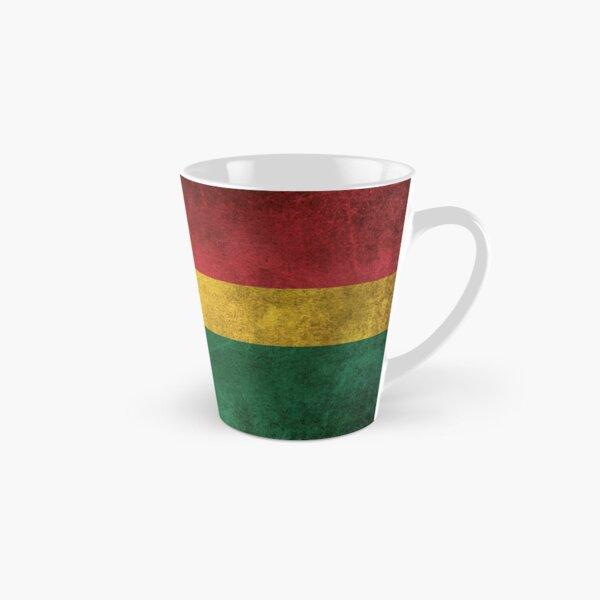Old and Worn Distressed Vintage Flag of Ghana Tall Mug