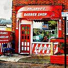 Orlandos Barber Shop Hove England by Dorothy Berry-Lound