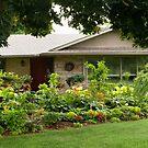 Sunnylea Garden in August by Marilyn Cornwell