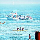 Fun At Sea in Brighton  by Dorothy Berry-Lound