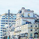 Hotels Along the Promenade in Brighton by Dorothy Berry-Lound