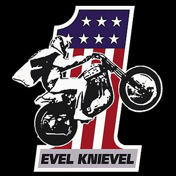 VINTAGE EVEL PROFESSIONAL MOTOCYCLE STUNT by SUNSET-STORE