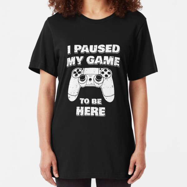 Womens Boob Controller Funny Joke Adult Gamer FITTED T-SHIRT Birthday Gift