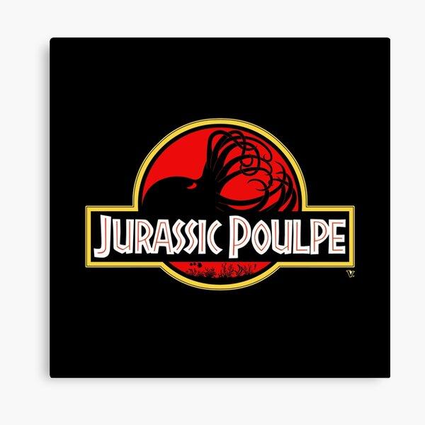 Jurassic Poulpe Impression sur toile