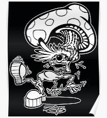 Zippy Shroom Head Character Poster
