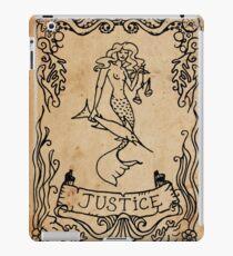 Mermaid Tarot: Justice iPad Case/Skin