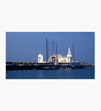 Moored at Smorgys Photographic Print