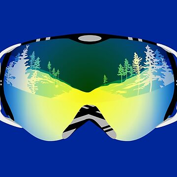 Ski goggles by lents