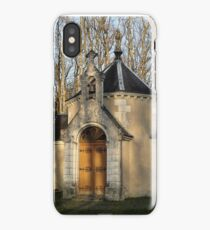 Church or Crypt?, Montresor, Loire Valley, France 2012 iPhone Case