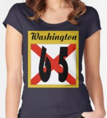 ALABAMA:  65 WASHINGTON COUNTY Women's Fitted Scoop T-Shirt