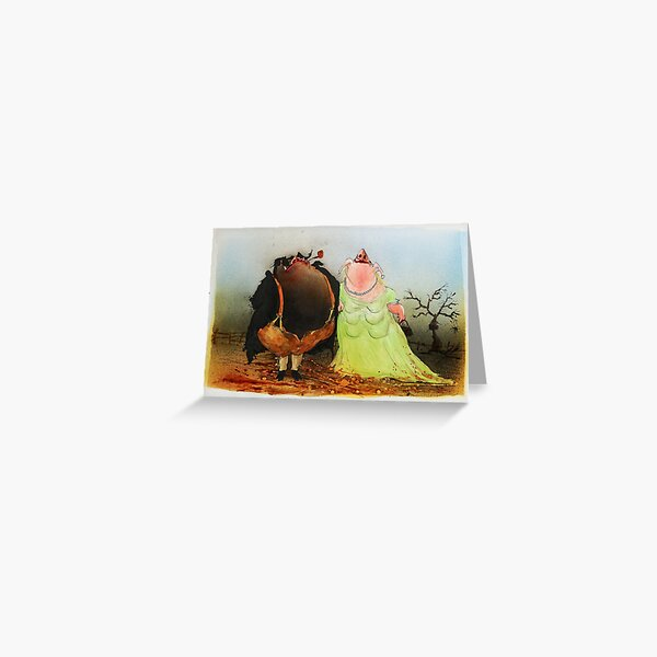 You're the one for me! Greeting Card