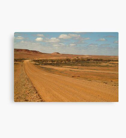 Oodnadatta Track,Outback South Australia Canvas Print