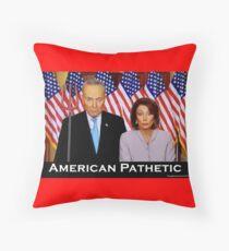 American Pathetic Throw Pillow