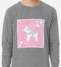 Einhorn Dala Pferd Leichtes Sweatshirt