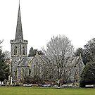 Stanmer Church Brighton by Dorothy Berry-Lound