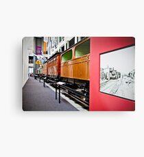 History of Train in Australia Metal Print