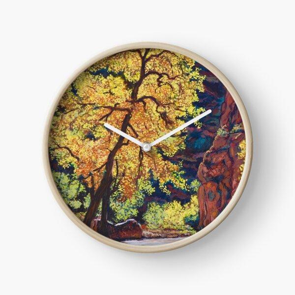 Escalante River Southern Utah Clock