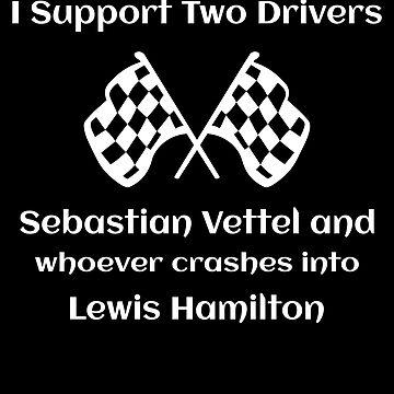 Sebastian Vettel Wrecks Lewis Hamilton Formula One by itsmwaura