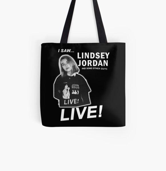 I SAW LINDSEY JORDAN LIVE All Over Print Tote Bag