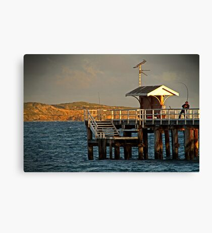 Hooked! Canvas Print