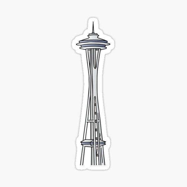 """""""Space Needle"""" in Seattle Sticker"""
