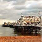 Early Evening at Brighton Pier by Dorothy Berry-Lound