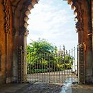 Archway View to the Royal Pavilion Brighton by Dorothy Berry-Lound