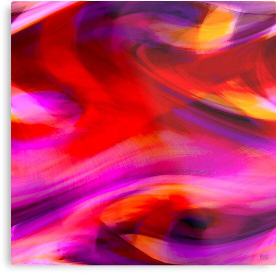 Purple Eye by RVig Generative Art