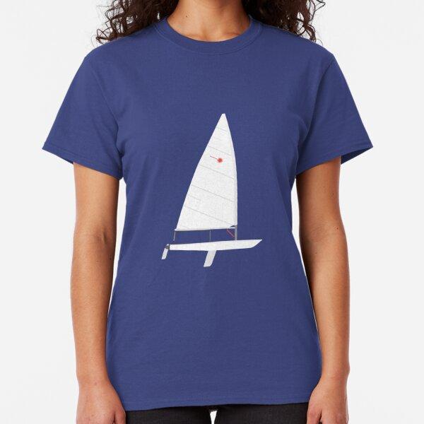 Laser Sailboat Classic T-Shirt