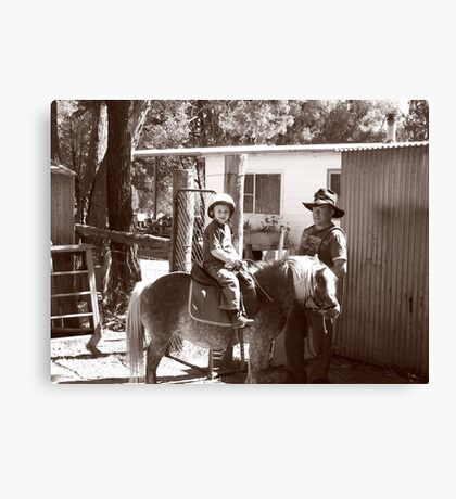 Rouseabout and the Rascal Canvas Print