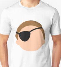 Camiseta unisex Morty malvada - minimalista