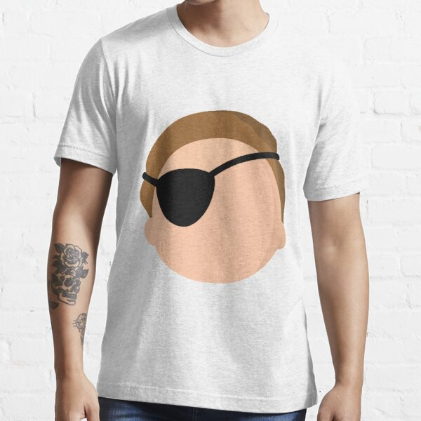 Evil Morty - Minimalistic Essential T-Shirt