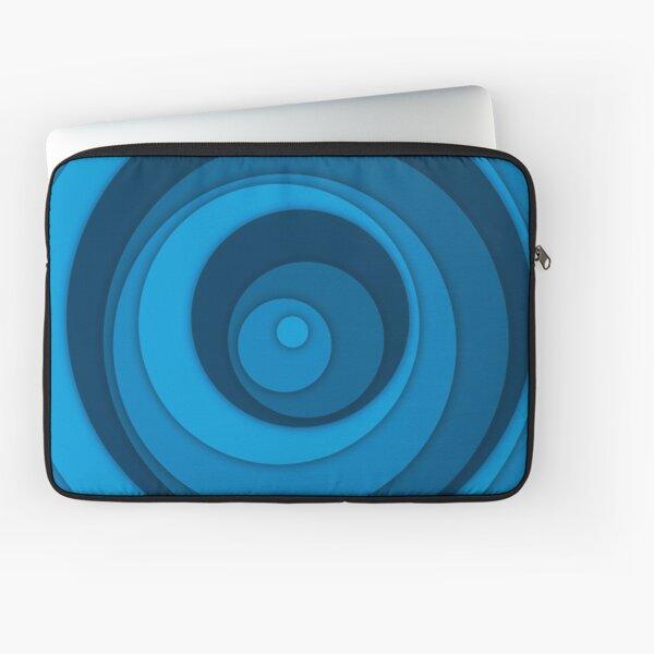 Nested Dots - Blue Laptop Sleeve