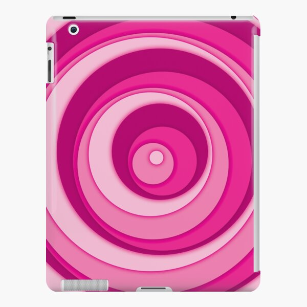 Nested Dots - Pink iPad Snap Case