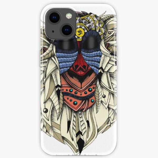 Ornate Color Rafiki iPhone Soft Case