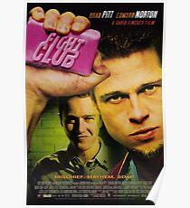Kampfklub-Filmplakat Poster