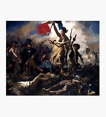 Liberty Leading The People -- French Revolution Photographic Print