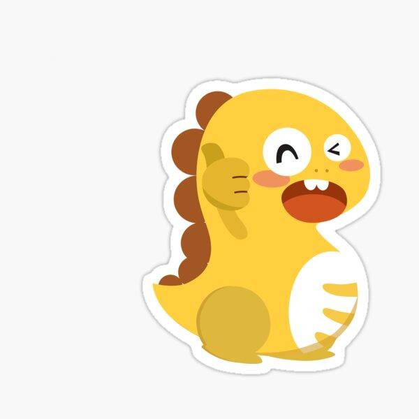 VIPKID Dino Mascot Sticker