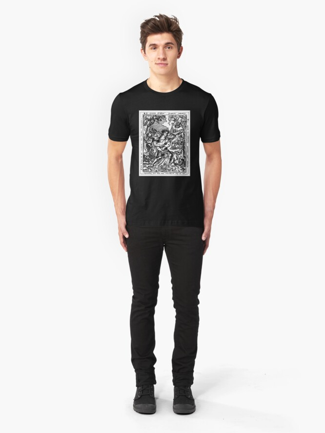 Alternate view of Luis de Milan - El Maestro Front Piece Slim Fit T-Shirt