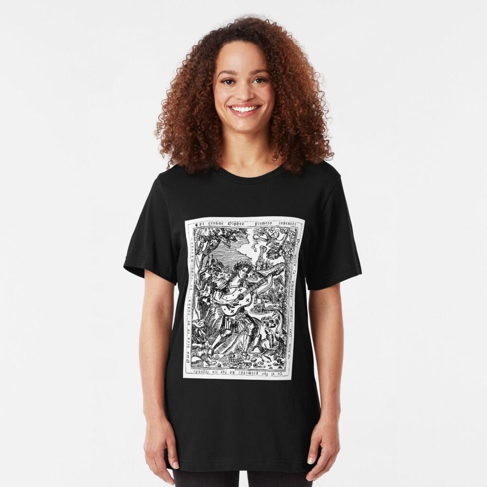 Luis de Milan - El Maestro Front Piece Slim Fit T-Shirt