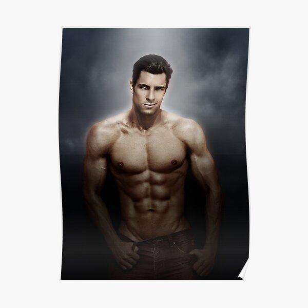 Male model Chris - Soft focus Poster