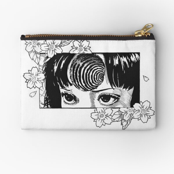 Junji Ito- Floral Passion  Zipper Pouch