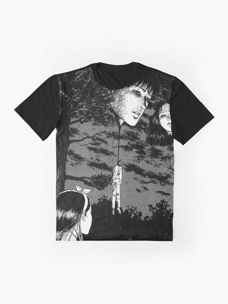 Alternate view of Junji Ito -  Floating heads Graphic T-Shirt