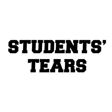 Students' tears by radvas
