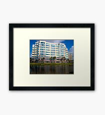 Modern Office Building Architecture Framed Print