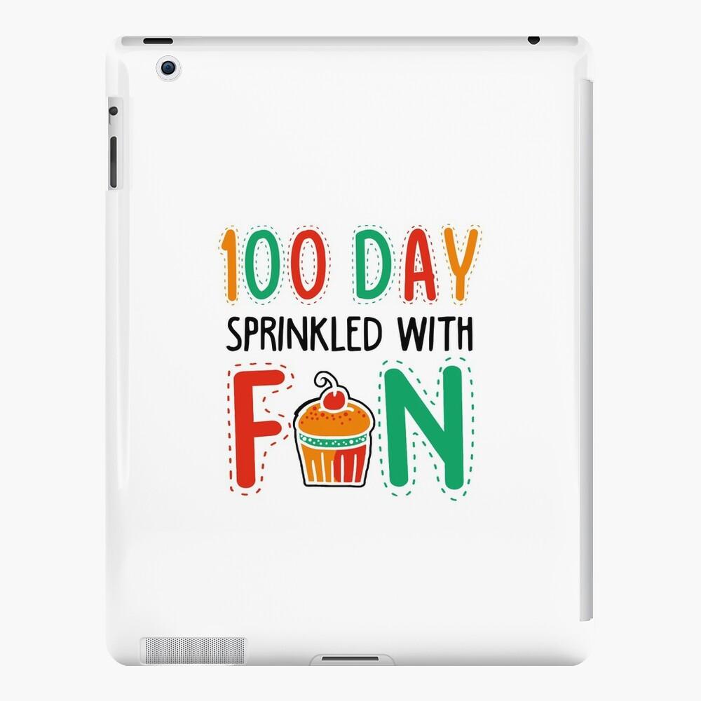 100 Tage Schule niedliches T-Shirt iPad-Hüllen & Klebefolien