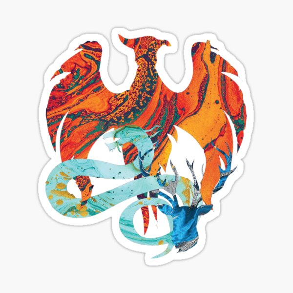 Shadow and Bone Series Sticker