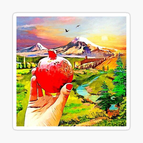 Armenian pomegranate  Sticker