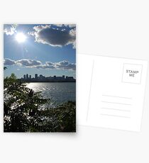 Montreal From a Distance Postcards