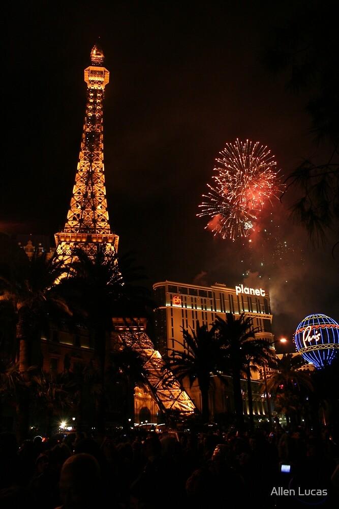 Happy New Year 2008 - Vegas Style by Allen Lucas